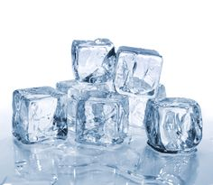 Ice tighten the pores on skin and makes it smoother.