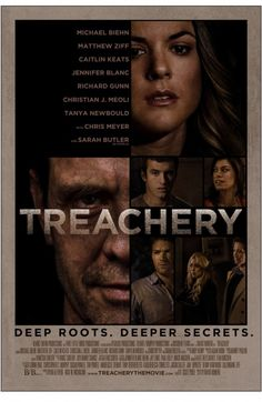 We've been covering the horror film TREACHERY starring Michael Biehn from the very beginning and toda