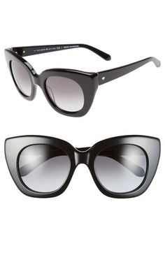1a1009d97d kate spade new york  narelle  51mm retro sunglasses available at  Nordstrom  Retro Sunglasses