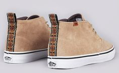 db8e4226e3 The Guitar Strap pack is a new collection featuring the Vans California  Chukka Decon. The uppers are made of suede and the heel tabs are insipred  by the ...