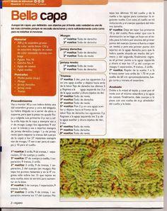 Receitas de Trico e Croche: Capinha