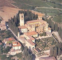 Abbey of Badia a Passignano in Chianti