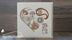 Paisleys & Posies with Copper Foil Sheets