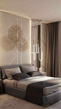 Bedroom Decor For Small Rooms, Master Bedroom Interior, Modern Master Bedroom, Room Design Bedroom, Bedroom Furniture Design, Home Room Design, Interior Design Living Room, Taupe Bedroom, Bedroom Interiors