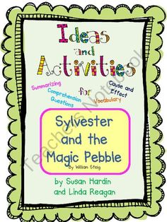 Freckle juice comprehension and freckles on pinterest for Sylvester and the magic pebble coloring page