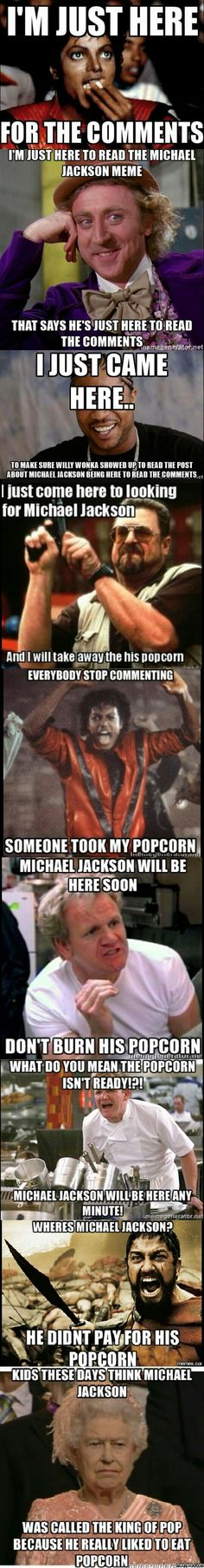 What if there was a conversation about popcorn? Michael Jackson started it!