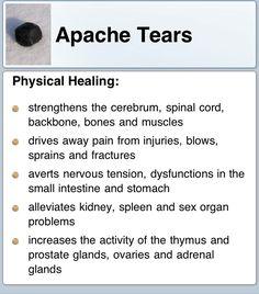 Apache Tears - Physical Healing