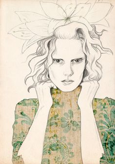 Vaarinkukka A4 Fine Art Print