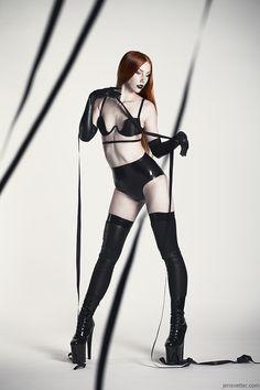 latex-stockings-in-fashion: Leila_blackstrap . Fetish Fashion, Latex Fashion, Gothic Glam, Fantasy Photography, Bridal Boudoir, Latex Girls, Underbust Corset, Fashion Portfolio, Models