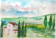 acquerello by  M. Cristina De Amicis Cristina