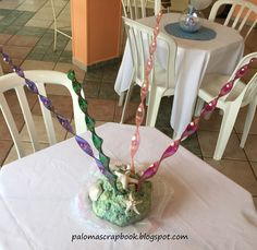 under the sea party centerpiece