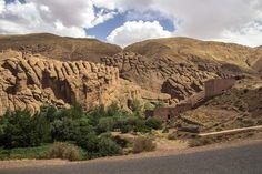 Dades Valley near Boumalne.