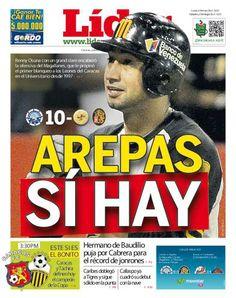 Arepas sí hay | Renny Osuna con un grand slam encabezó la ofensiva del Magallanes, que le propinó el primer blanqueo a los Leones del Caracas en el Universitario desde 1997 | Es nuestra portada del 05 de diciembre