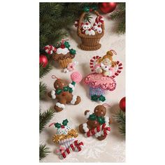 Rakuten.com: Perrysmart | Cupcake Anjo Enfeites de feltro Kit 3 1/2X4 1/2 Conjunto de 6 | Sem categoria