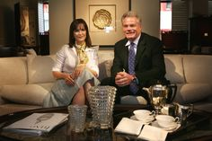 The charming Michael Belleveau, President & CEO of Baccarat