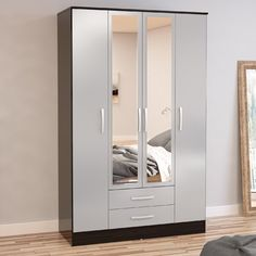 Lincoln 4 Door Wardrobe | Wayfair UK