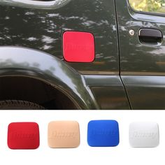 2016 Fashionable Aluminium Fuel Door Gas Tank Cap Cover for Suzuki Jimny Gas Door Replacement 4 Colors Available