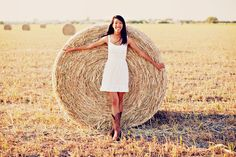 Farm girl senior outside outdoor hay barn cowgirl country grad graduation pics photoshoot photo pictures ideas natural lighting