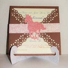 Cowgirl Invitation / Western Invitation / Cowgirl Birthday / Baby Shower / Bridal Shower / Western / Country Party