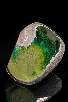 Geode No.7   Jon Goldberg Art Glass
