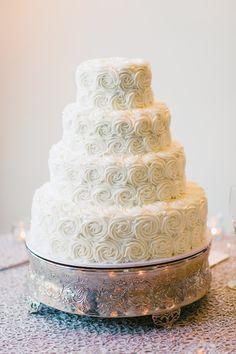 Wedding Cake Rosettes