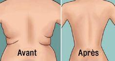 Voici comment se débarrasser de la graisse du dos et perdre du poids sainement !