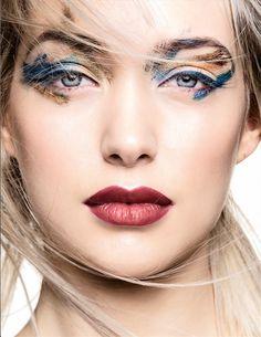 Beauty - Metallic for Laha Magazine