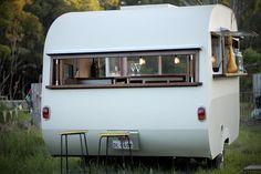 Mr Jenkins vintage caravan