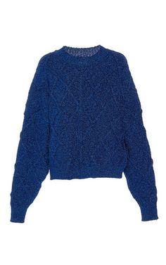 Dazzle Oversized Knit Jumper by ISABEL MARANT for Preorder on Moda Operandi