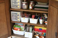 Organisation tips for all areas of the house! Organization Lists, Organization Station, Household Organization, Classroom Organization, Organizing Tips, Organising, Organizing School, Classroom Supplies, Classroom Ideas