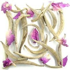 Thés Mariage, réf. T2308 :  BLANC & ROSE™  Thé blanc parfumé à la rose. La perfection dans une tasse.