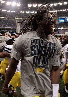 16f637376 Denard Robinson Photo - Allstate Sugar Bowl - Michigan v Virginia Tech Michigan  Wolverines Football
