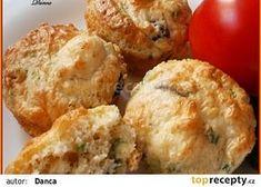 """Slané """"pizza"""" muffiny recept - TopRecepty.cz"""