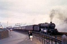 Train Leaves Stranraer in - 1959