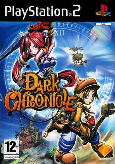 Dark Cloud 2 Box Shot for PlayStation 2 Playstation 2, Ps4, Dark Cloud, Kingdom Hearts Ii, Nintendo 3ds, Free Game Sites, Dark Chronicle, Juegos Ps2, Evil Villains