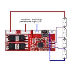 Умная Электроника 4S 30A высокий ток литий-ионный Батарея 18650 Зарядное устройство защиты и управления 14.4 В 14.8 В 16.8 В завышенную