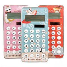 Lancy Cat Solar Calculator - $9 each, available at heykittykitty.com