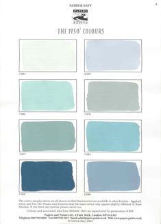 papers and paints ~1950s collection {blues} by Kendrasmiles4u