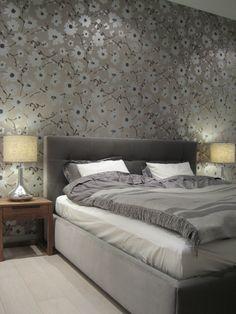modern bedroom / nowoczesna sypialnia -  interior design by QLT design / projekt restauracji QLT design
