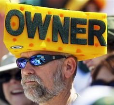The Green Bay Packers are the only NFL team that does not have one person or corporation owning it. It is owned by the people of Wisconsin. My brother-in-law is an owner!!!