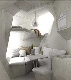Futuristic tiny home design by TinyHousesAustralia| www.bocadolobo.com/ #luxuryfurniture #designfurniture #futuristicfurniture