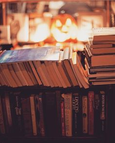coffee and books for everyone 👻 Autumn Aesthetic, Book Aesthetic, Books To Read, My Books, Book Cafe, Autumn Cozy, Coffee And Books, Book Nooks, Autumn Inspiration