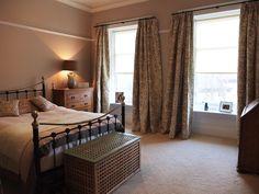 Bedroom with soft latte, grey & sage green tones Sage, Interiors, Bedroom, Grey, Furniture, Home Decor, Gray, Decoration Home, Salvia