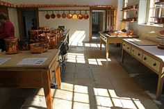 Kitchen, Saltram House, Devon