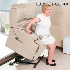 Craftenwood 6012 Lifting Relax Chair with Massage