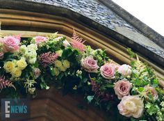 Pippa Middleton and James Matthews Wedding Details Pippas Wedding, Sister Wedding, Wedding Ceremony, Rustic Wedding, Wedding Flowers, Wedding Ideas, Royal Wedding Pippa Middleton, Church Flower Arrangements, Floral Arrangements