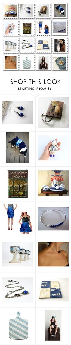 """A Little Sugar In My Coffee"" by jarmgirl ❤ liked on Polyvore featuring Lazuli, Corgi, Angelo and vintage"