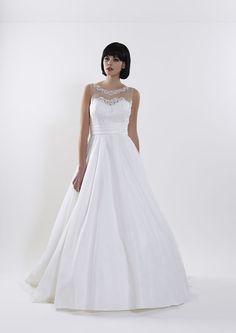 Classic brides will love the 2015 Romantica of Devon collection!