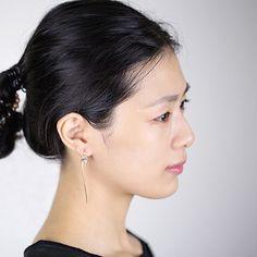 Hot Sale Real 925 Sterling Silver Long Lotus Flower Drop Earrings for Women Fashion Sterling Silver Jewelry Free Ship