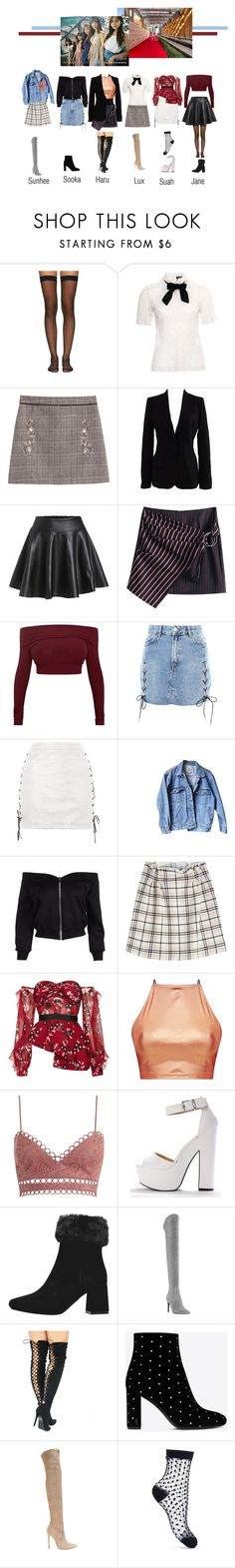 """""""NANA arrived at Bang Charity"""" by bsaentertainment ❤ liked on Polyvore featuring Wolford, The Kooples, Dolce&Gabbana, Topshop, Levi's, Carven, self-portrait, Zimmermann, Dune and Yves Saint Laurent"""